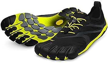 Vibram FiveFingers Bikila EVO M3501 - Zapatillas de dedos para hombre, color negro y amarillo negro Talla:40: Amazon.es: Deportes y aire libre