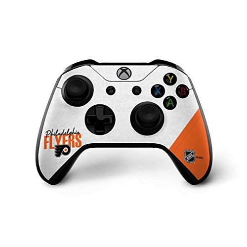 Skinit Philadelphia Flyers Script Xbox One X Controller Skin - Officially Licensed NHL Gaming Decal - Ultra Thin, Lightweight Vinyl Decal Protection