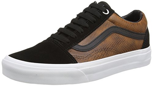 Sneakers Vans brown Homme Basses snake Brown Black v77fwdq