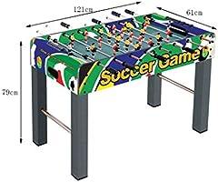 Futbolines Máquina 6 Máquinas De Billar para Adultos Doble Juguetes De Juegos para Niños Juguetes Educativos De 6 A 14 Años Máquina De Fútbol Interactiva Multijugador: Amazon.es: Hogar