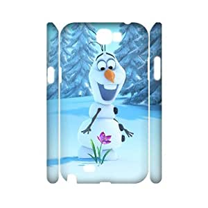 C-EUR Frozen Customized Hard 3D Case For Samsung Galaxy Note 2 N7100
