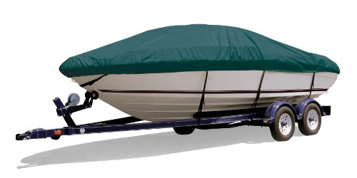 Survivor Marine Products Boat Cover for Angled Transom Bass Boats (Outboard Engine), Teal, 19-Feet 5-Inch - 20-Feet 4-Inch Length Overall x 96-Inch Beam Width (Angled Transom Bass Boat Cover)