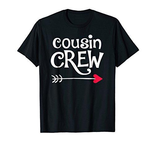Red Heart & Arrow Cousin Crew tshirt Kids & Girls