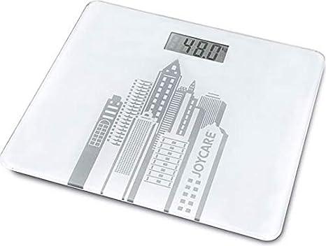 Joycare JC-1409 Báscula personal electrónica Plaza Blanco - Báscula de baño (LCD,