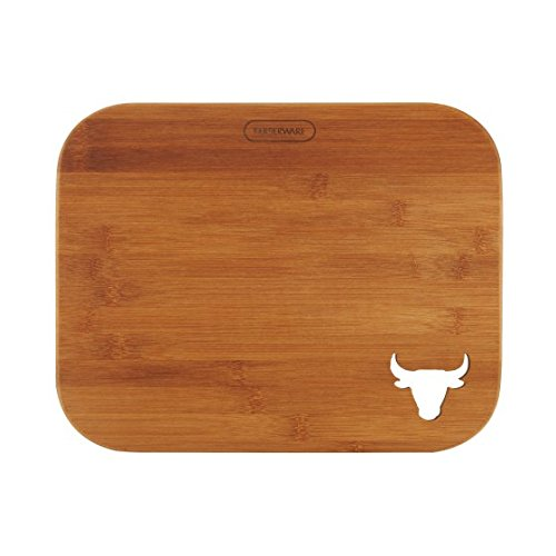 y 14 Inch Bamboo Cutting Board With Steer Cut Out ()
