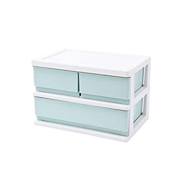 Archivador de archivos QIQIDEDIAN Storage Box Office Storage Office Desktop Racks Almacenamiento en la Mesa Rack File Stationery Desk Drawer (Color ...