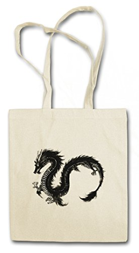 CHINESE DRAGON III HIPSTER BAG �?Drago Fantasy Tattoo Monster Drachen Japanese Asia Medieval Larp Monster Dungeons Knight Oldschhool Flash