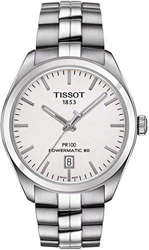 Tissot t1014071103100 T de Classic pr 100 Power Matic 80 Automatic Reloj de Hombre