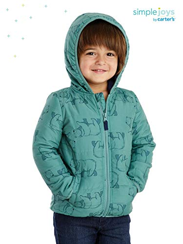 Simple Joys by Carter's Boys' Toddler Puffer Jacket