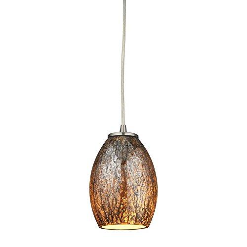 Elk Elliptical - Elk Lighting 10256/1 Ceiling-Pendant-fixtures, Brown