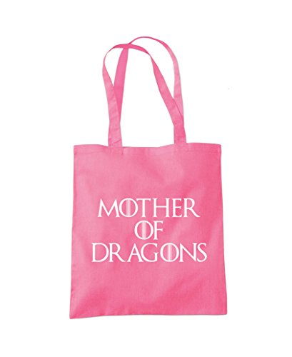 Mother of Dragons - Tote Shopper Fashion Bag Pink
