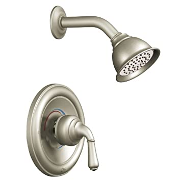 Beautiful Moen T2444BN Monticello Posi Temp Shower Trim Kit Without Valve, Brushed  Nickel