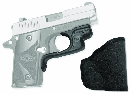 Crimson Trace LG-492 Laserguard Red Laser Sight for Sig Sauer P238 and P938 Pistols with Pocket Holster