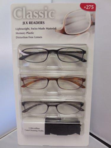Design Optics 3pk Reading Glasses - Glasses Optics