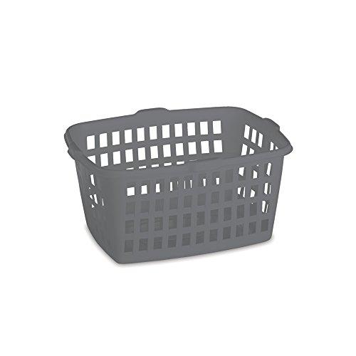 Homz Plastic Laundry Basket, 23