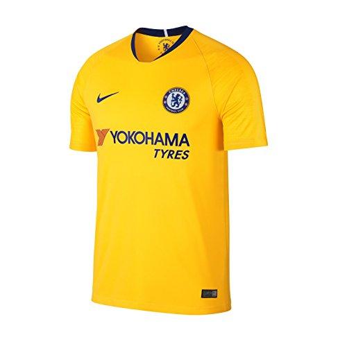 6a7e515b NIKE 2018-2019 Chelsea FC Stadium Away Jersey (Tour Yellow) (M)