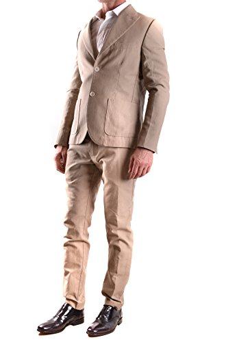 Daniele Alessandrini Homme MCBI086502O Marron Coton Costume
