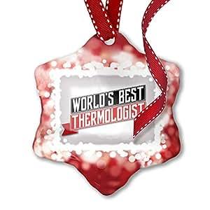 Amazon com: NEONBLOND Christmas Ornament Worlds Best