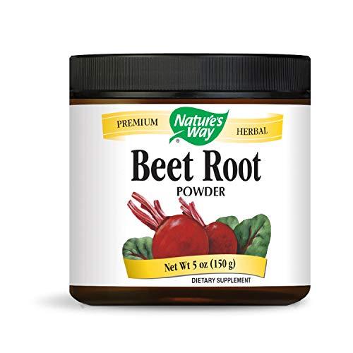 Nature's Way Beet Root Powder; 150 g per Serving; TRU-ID Certified; Vegetarian; BPA Free Packaging; 5 oz per Canister (Packaging May Vary)