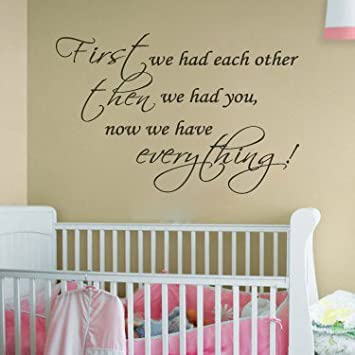 Nursery Room Decal Wall Quote Vinyl Love Large Nice Part 75
