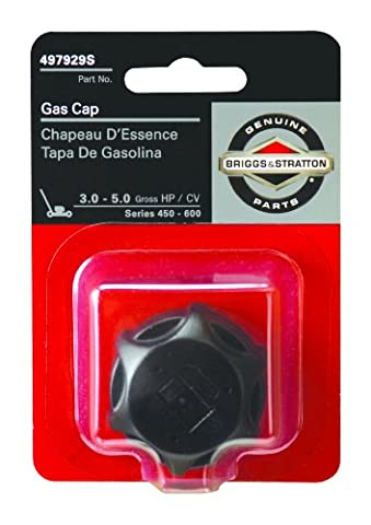Briggs & Stratton 5057K Fuel Tank Cap For 3.5 and 3.75 HP Classic and Sprint Engines and 4 HP Quattro 450-600 Series - 3.5 Hp Engine