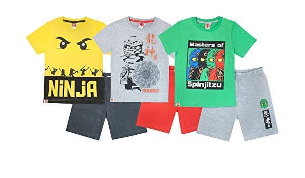 Lego Ninjago Ninja Characters Boys Pyjamas: Amazon.es: Ropa ...