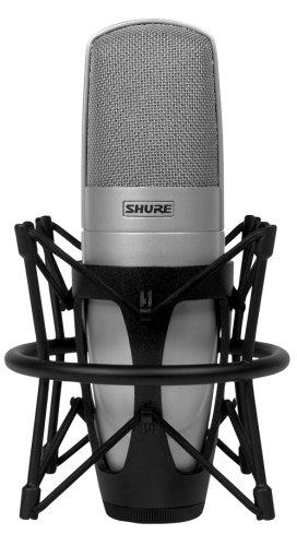 Shure KSM32/SL Embossed Single-Diaphragm Cardioid Condenser Studio Microphone, Champagne