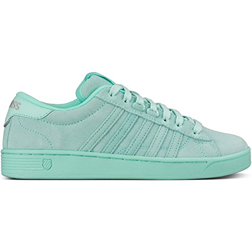 K-Swiss Women's Hoke Fashion Sneaker, Fair Aqua/Yucca, 7 M US