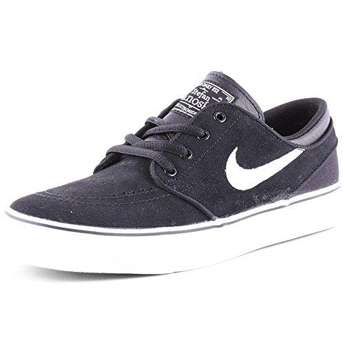 Price comparison product image Nike Kids Stefan Janoski (GS) Black/White Gum Med Brown Skate Shoe 4.5 Kids US