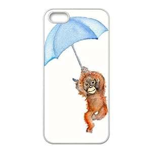 Clzpg Personalized Iphone5,Iphone5S Case - Orangutan cover case
