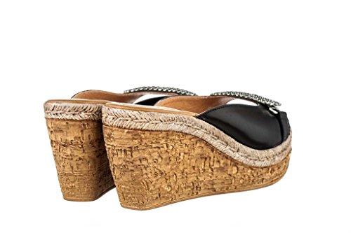 Sandalen Sandaletten aus Leder Schuhe Damen RIPA shoes - 09-677