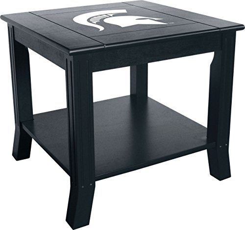 Imperial Officially Licensed NCAA Furniture: Hardwood Side/End Table, Michigan State Spartans (Michigan Game Table)