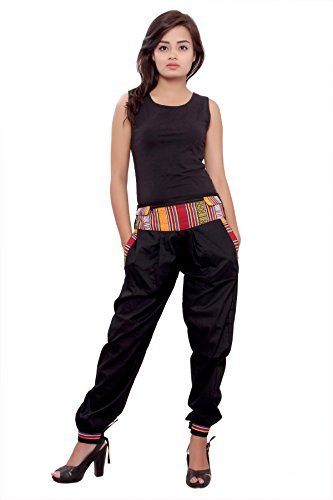 harem pants women yoga pants with pockets burning man style clothing evening...
