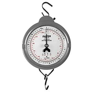Mechanical Hanging Scale - Die Cast Case - 440 lb. Capacity x 1 lb. Resolution by Salter Brecknell