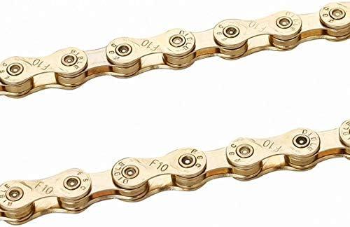 Bicycle Chain Gold 8 Speed 116L Bike Chain 24 Speed Mountain Road Bike Chains