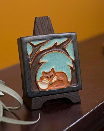 Little Fox Tile (Ephraim Faience Pottery)