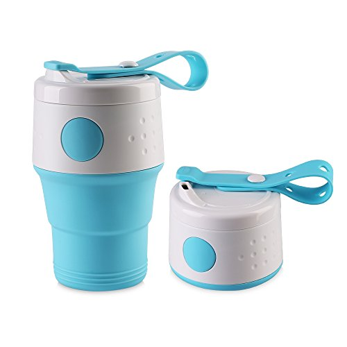 CISNO Travel Espresso Maker Mug Compact Collapsible Food-Grade for Hiking camping