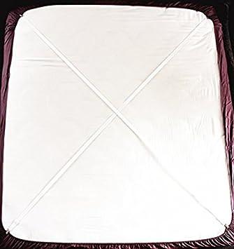 cczz tensores para sábana con pinzas metálicas Alargar Ajustable cama Toalla Tensor elástica Tensor para todos los Bette y colchones de 2 unidades: ...