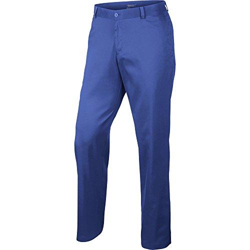 Nike Flat Front - Pantalon Homme, couleur Bleu, taille 33-30