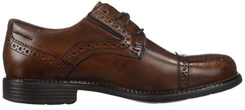 Rockport Mens Totale Tappo Vestito Movimento Punta Oxford Nuova Marrone