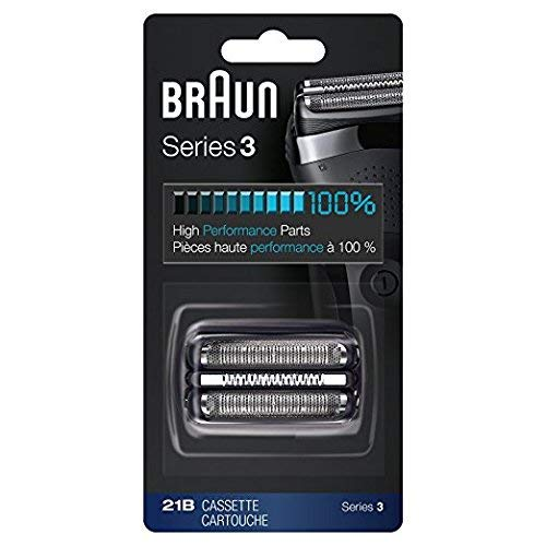 Braun Series 3 Shaver Cassette Black 21B (Braun 3 Series 340s)