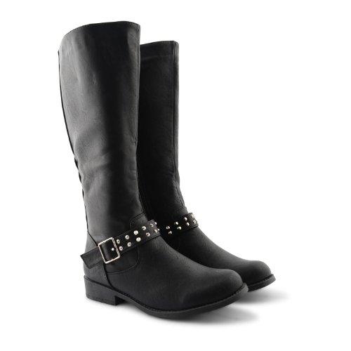 Footwear Sensation - Botas para mujer negro negro negro - Black Pu