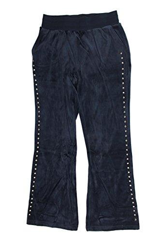 Diane Gilman DG2 Womens Flare Leg Velour Track Pants (2X, ()
