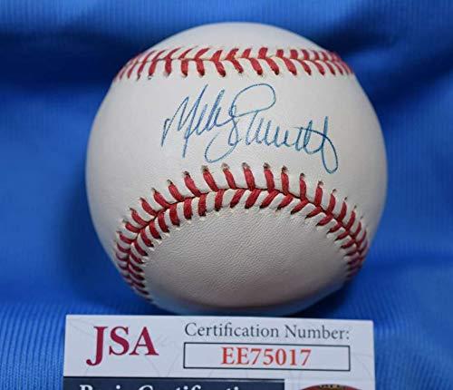 MIKE SCHMIDT JSA Autograph National League ONL Hand Signed BasebaLL
