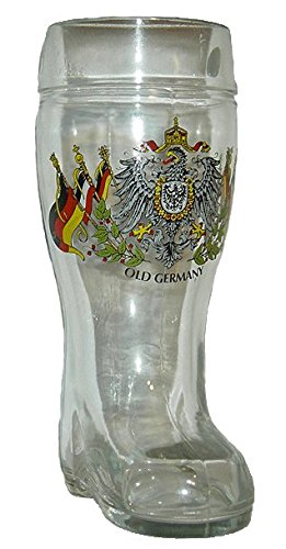 Large Drinking Beer Boot - Germany