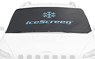 icescreen Magnetic Frost Ice Snow Sun Windshield Cover, Deluxe Black