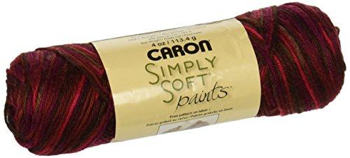 Sunset Crochet - Caron Simply Soft Paints Yarn, 4 Ounces/200 Yards, Sunset, Single Ball