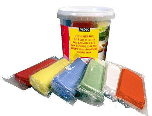 Amazon com: PEBEO Sidewalk Chalk-Clay Pail Create Chalk-10