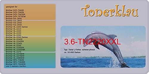 compatible Toner tn2220 de 3.6 x XL para: Brother HL de 2240dr ...