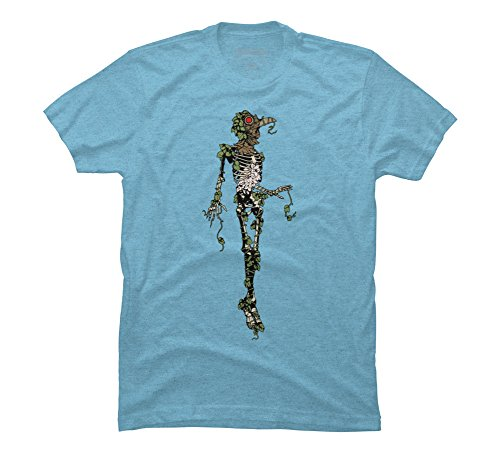 Plague Redemption Men's 2X-Large Sky Blue Heather Graphic T Shirt ()